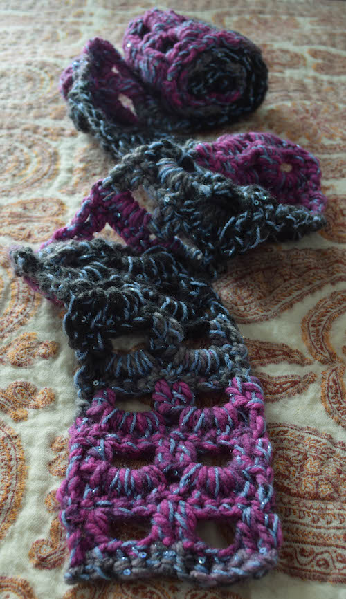 Glittery-Accent-Scarf-free-crochet-pattern-by-Marie-Segares-3